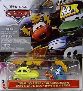 MATTEL CARS 2020 FAN FAVORITES シングル TEAM 95 LUIGI & GUIDO