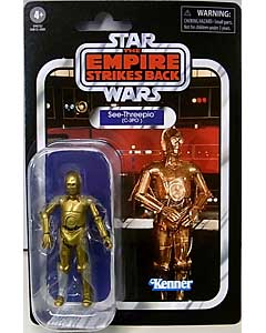 HASBRO STAR WARS 3.75インチアクションフィギュア THE VINTAGE COLLECTION 2020 SEE-THREEPIO (C-3PO) [THE EMPIRE STRIKES BACK] VC06