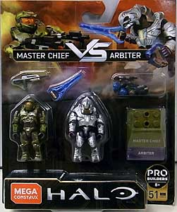 MEGA CONSTRUX FINAL SHOWDOWN 2PACK HALO MASTER CHIEF VS ARBITER