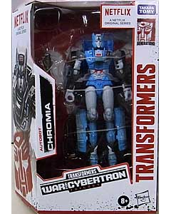 HASBRO NETFLIX TRANSFORMERS: WAR FOR CYBERTRON TRILOGY DELUXE CLASS AUTOBOT CHROMIA パッケージ傷み特価