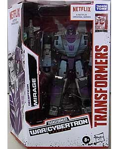 HASBRO NETFLIX TRANSFORMERS: WAR FOR CYBERTRON TRILOGY DELUXE CLASS DECEPTICON MIRAGE