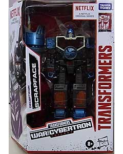 HASBRO NETFLIX TRANSFORMERS: WAR FOR CYBERTRON TRILOGY DELUXE CLASS DECEPTICON SCRAPFACE