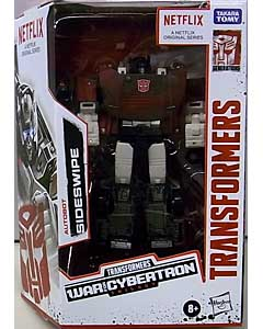 HASBRO NETFLIX TRANSFORMERS: WAR FOR CYBERTRON TRILOGY DELUXE CLASS AUTOBOT SIDESWIPE