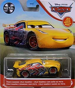 MATTEL CARS 2021 シングル TRACK DAMAGE CRUZ RAMIREZ 台紙傷み特価