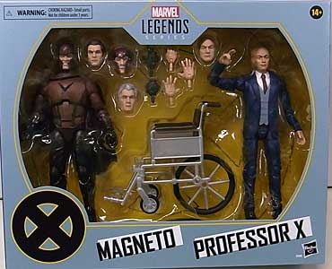 HASBRO MARVEL LEGENDS 2020 2PACK X-MEN MAGNETO & PROFESSOR X