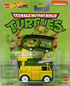 MATTEL HOT WHEELS 1/64スケール 2020 REPLICA ENTERTAINMENT TEENAGE MUTANT NINJA TURTLES PARTY WAGON