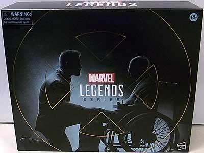 HASBRO MARVEL LEGENDS 2020 2PACK X-MEN MARVEL'S LOGAN & CHARLES XAVIER パッケージ破れ特価