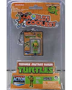 SUPER IMPULSE WORLD'S SMALLEST MICRO ACTION FIGURES TEENAGE MUTANT NINJA TURTLES MICHELANGELO