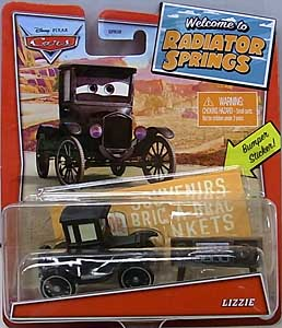 MATTEL CARS 2020 WELCOME TO RADIATOR SPRINGS シングル LIZZIE