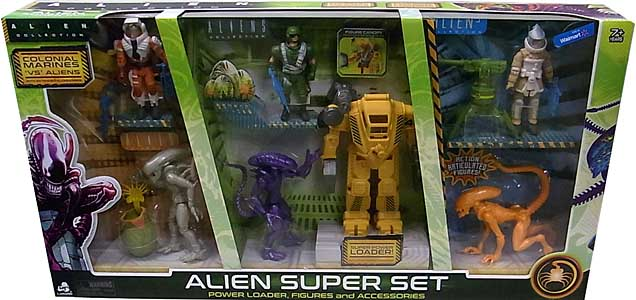 LANARD TOYS ALIEN COLLECTION ALIEN SUPER SET
