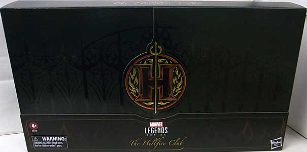 HASBRO MARVEL LEGENDS 2020 4PACK THE HELLFIRE CLUB