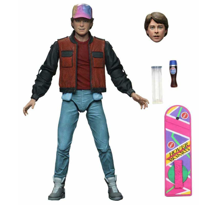 NECA BACK TO THE FUTURE 7インチアクションフィギュア BACK TO THE FUTURE PART II ULTIMATE MARTY McFLY