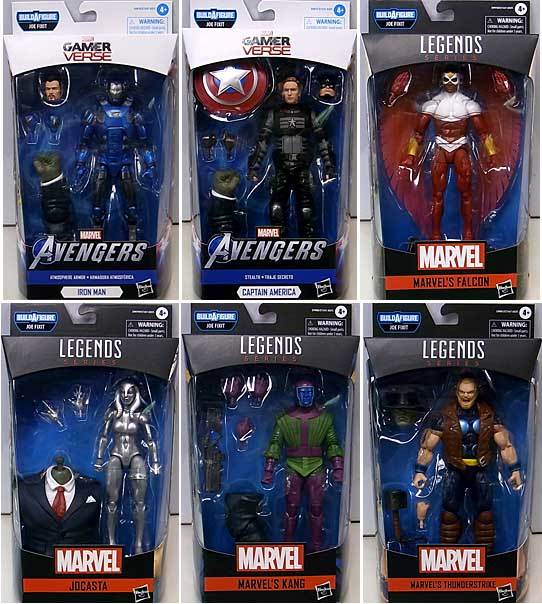 HASBRO MARVEL LEGENDS 2020 GAMERVERSE SERIES 2.0 6種セット [JOE FIXIT SERIES]