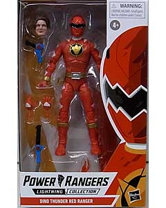 HASBRO POWER RANGERS LIGHTNING COLLECTION 6インチアクションフィギュア DINO THUNDER RED RANGER