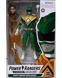 HASBRO POWER RANGERS LIGHTNING COLLECTION 6インチアクションフィギュア MIGHTY MORPHIN GREEN RANGER