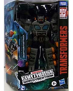 HASBRO TRANSFORMERS EARTHRISE DELUXE CLASS DECEPTICON FASTTRACK