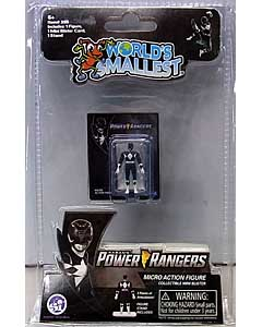SUPER IMPULSE WORLD'S SMALLEST MICRO ACTION FIGURES POWER RANGERS MIGHTY MORPHIN BLACK RANGER