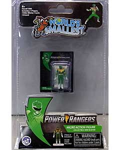 SUPER IMPULSE WORLD'S SMALLEST MICRO ACTION FIGURES POWER RANGERS MIGHTY MORPHIN GREEN RANGER