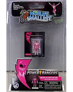 SUPER IMPULSE WORLD'S SMALLEST MICRO ACTION FIGURES POWER RANGERS MIGHTY MORPHIN PINK RANGER