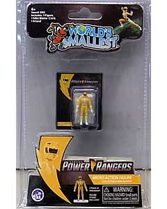 SUPER IMPULSE WORLD'S SMALLEST MICRO ACTION FIGURES POWER RANGERS MIGHTY MORPHIN YELLOW RANGER