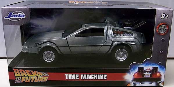 JADA TOYS METALS DIE CAST 1/32スケール BACK TO THE FUTURE TIME MACHINE