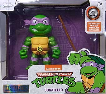 JADA TOYS METALS DIE CAST 4インチフィギュア TEENAGE MUTANT NINJA TURTLES DONATELLO
