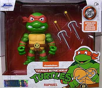 JADA TOYS METALS DIE CAST 4インチフィギュア TEENAGE MUTANT NINJA TURTLES RAPHAEL