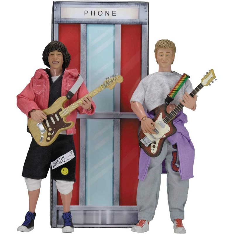 NECA BILL & TED'S EXCELLENT ADVENTURE 8インチドール WYLD STALLYNS 2PACK