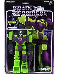 SUPER 7 REACTION FIGURES 3.75インチアクションフィギュア TRANSFORMERS WAVE 3 DEVASTATOR