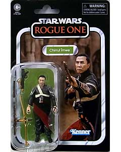 HASBRO STAR WARS 3.75インチアクションフィギュア THE VINTAGE COLLECTION 2020 CHIRRUT IMWE [ROGUE ONE] VC174