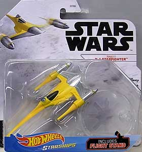 MATTEL HOT WHEELS STAR WARS DIE-CAST VEHICLE 2020 NABOO N-1 STARFIGHTER