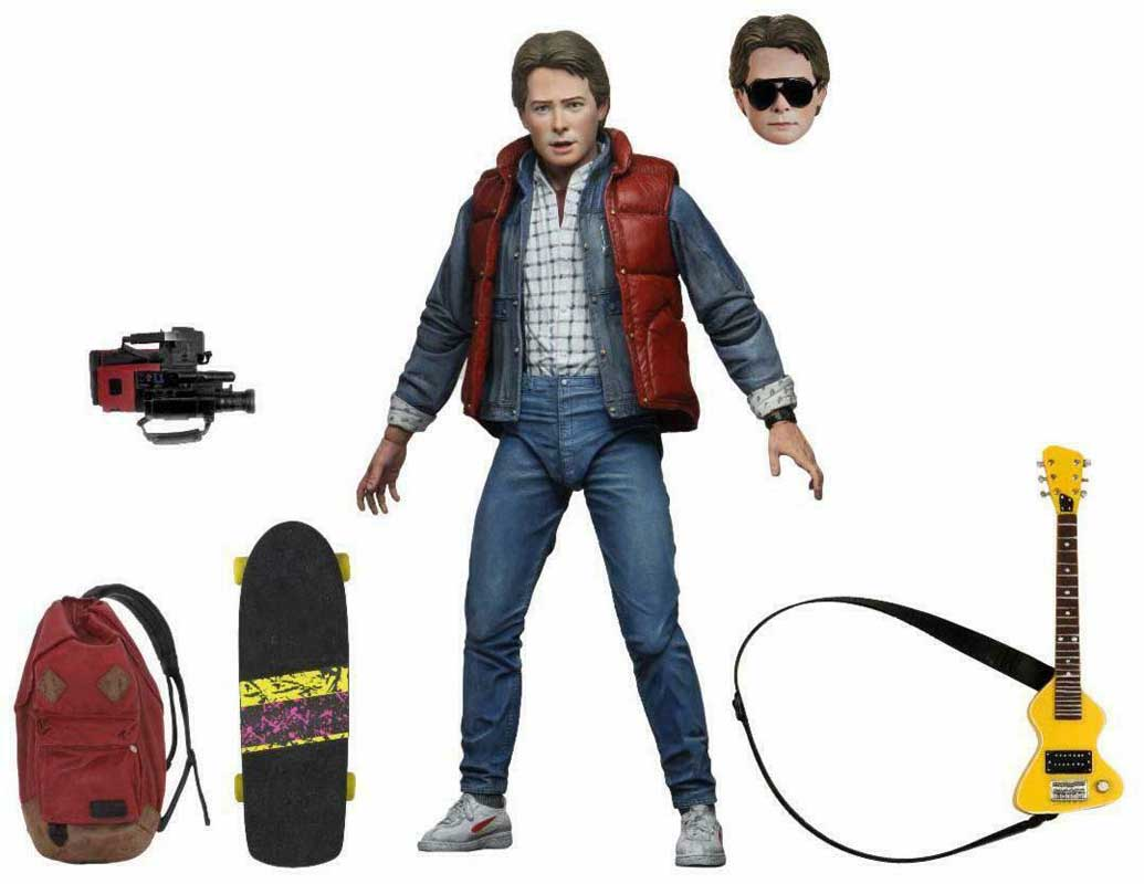 NECA BACK TO THE FUTURE 7インチアクションフィギュア BACK TO THE FUTURE ULTIMATE MARTY McFLY