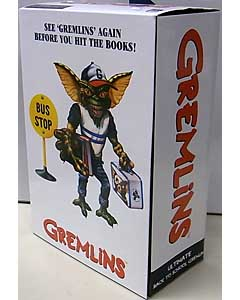 NECA GREMLINS TARGET限定 7インチスケールアクションフィギュア ULTIMATE BACK TO SCHOOL GREMLIN
