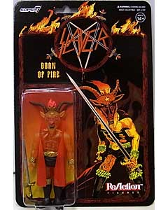 SUPER 7 REACTION FIGURES 3.75インチアクションフィギュア SLAYER MINOTAUR [BORN OF FIRE]