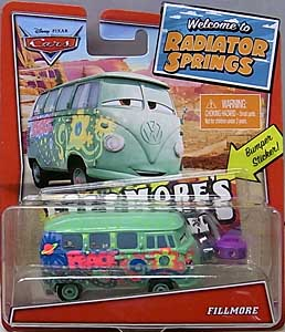 MATTEL CARS 2020 WELCOME TO RADIATOR SPRINGS シングル FILLMORE 台紙傷み特価