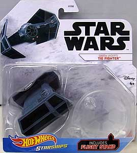 MATTEL HOT WHEELS STAR WARS DIE-CAST VEHICLE 2020 DARTH VADER'S TIE FIGHTER