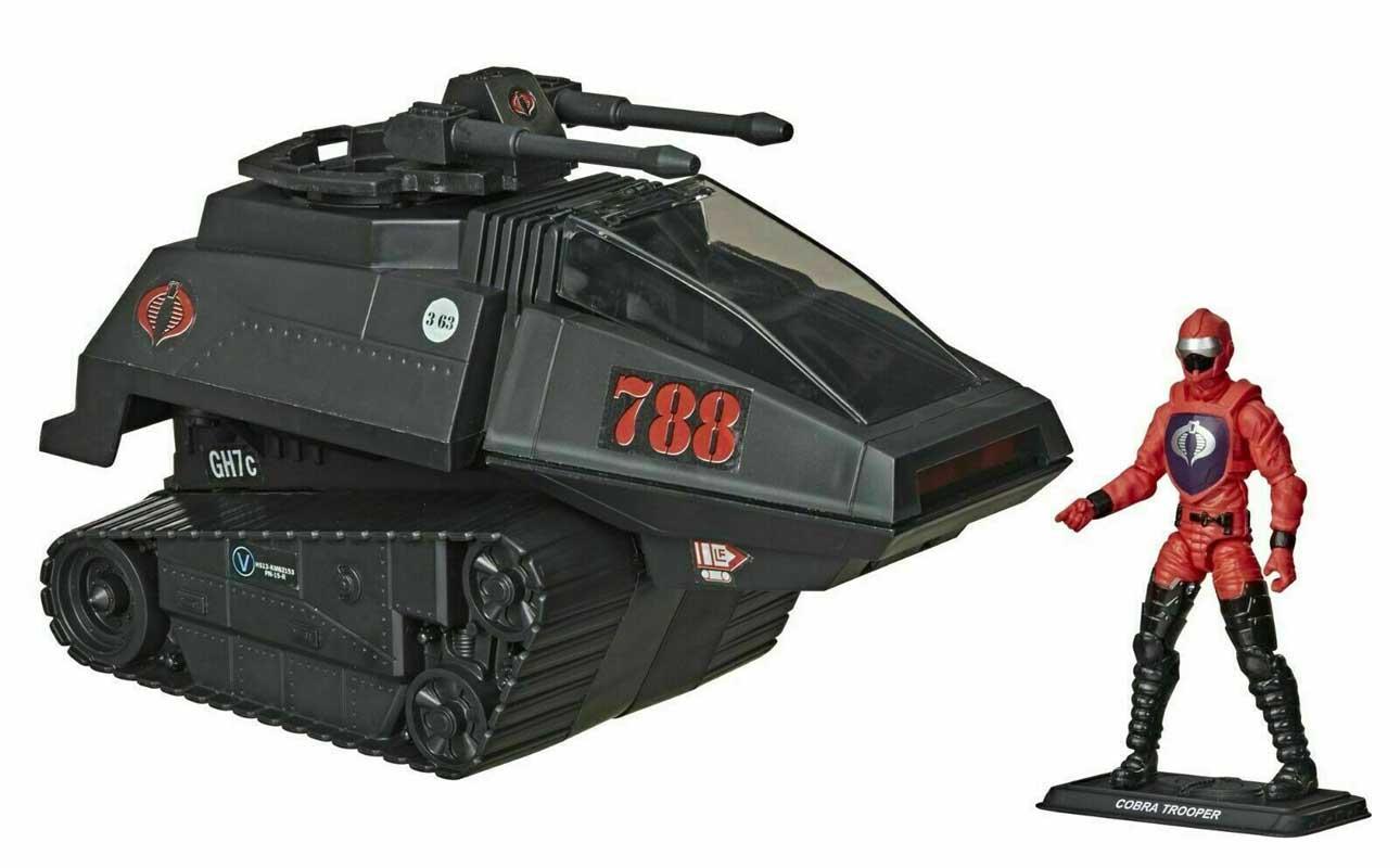 HASBRO G.I.JOE WALMART限定 3.75インチアクションフィギュア RETRO COLLECTION COBRA H.I.S.S. WITH COBRA H.I.S.S. DRIVER