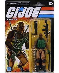 HASBRO G.I.JOE WALMART限定 3.75インチアクションフィギュア RETRO COLLECTION ROADBLOCK
