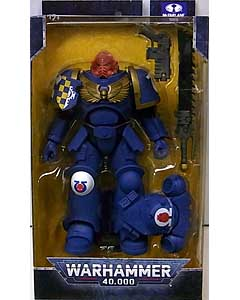 McFARLANE TOYS WARHAMMER 40,000 7インチアクションフィギュア ULTRAMARINES PRIMARIS ASSAULT INTERCESSOR