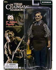 MEGO 8INCH ACTION FIGURE THE TEXAS CHAINSAW MASSACRE REMAKE LEATHERFACE 台紙傷み&ブリスターハガレ特価