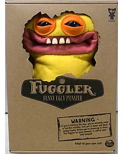 SPIN MASTER FUGGLER FUNNY UGLY MONSTER 9インチプラッシュドール GRIN GRIN [YELLOW]