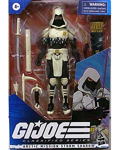 HASBRO G.I.JOE 6インチアクションフィギュア CLASSIFIED SERIES ARCTIC MISSION STORM SHADOW