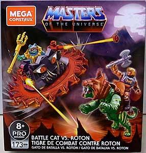 MEGA CONSTRUX MASTERS OF THE UNIVERSE BATTLE CAT VS ROTON