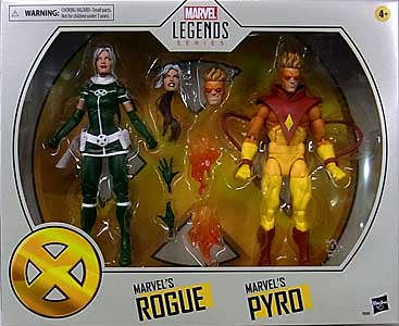 HASBRO MARVEL LEGENDS 2020 2PACK X-MEN MARVEL'S ROGUE & MARVEL'S PYRO