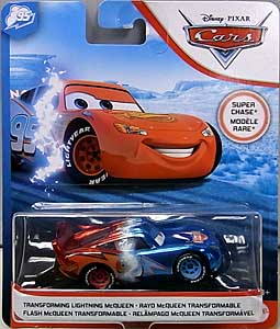 MATTEL CARS 2020 シングル SUPER CHASE TRANSFORMING LIGHTNING McQUEEN 台紙傷み特価