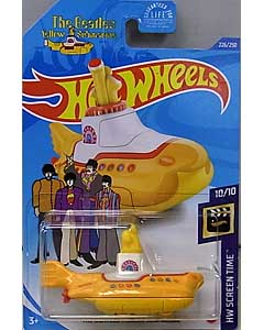 MATTEL HOT WHEELS 1/64スケール 2020 HW SCREEN TIME THE BEATLES YELLOW SUBMARINE #226 [TREASURE HUNTS]