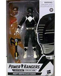HASBRO POWER RANGERS LIGHTNING COLLECTION 6インチアクションフィギュア MIGHTY MORPHIN BLACK RANGER
