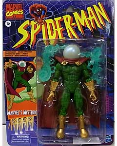 HASBRO MARVEL LEGENDS RETRO 6-INCH COLLECTION SPIDER-MAN MARVEL'S MYSTERIO