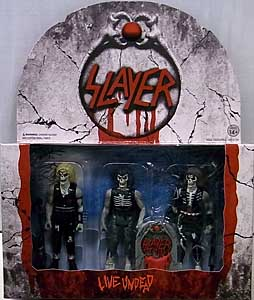 SUPER 7 REACTION FIGURES 3.75インチアクションフィギュア SLAYER LIVE UNDEAD 3PACK