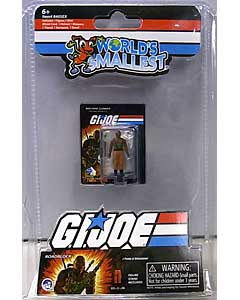 SUPER IMPULSE WORLD'S SMALLEST MICRO ACTION FIGURES G.I.JOE VS COBRA ROADBLOCK